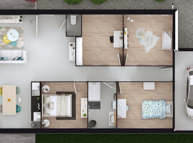 Découvrir le plan de maison Begonia