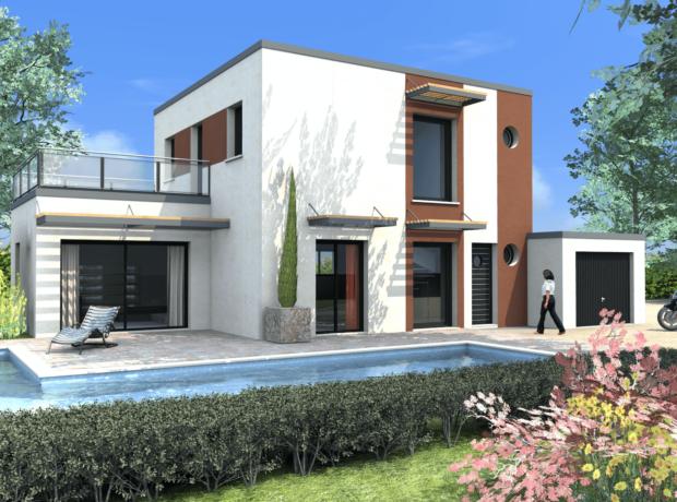 Découvrir le plan de maison Tulipe – toit plat
