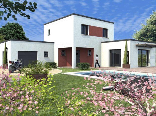 Découvrir le plan de maison Arôme – toit plat
