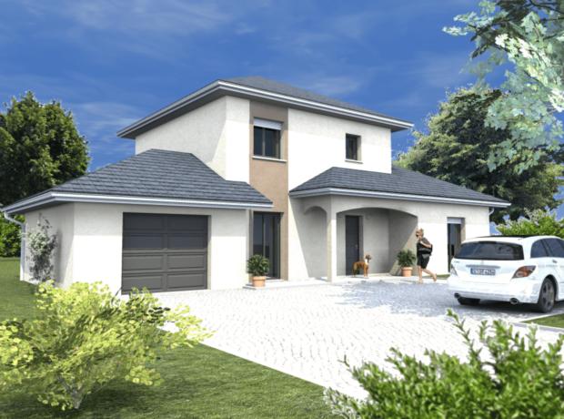 Découvrir le plan de maison Freesia